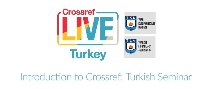 Introduction to Crossref: Turkish Seminar