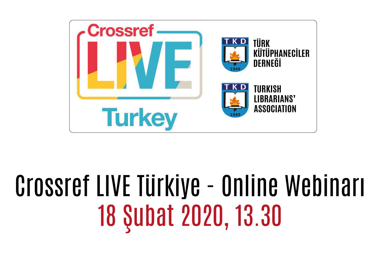 Crossref LIVE Türkiye – Online Webinarı