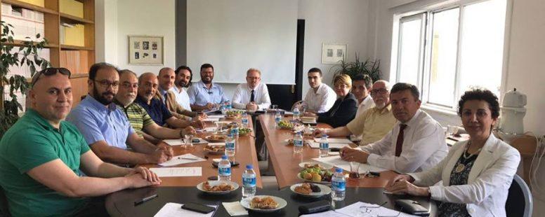 Bilgi ve Belge Yönetimi Bölümlerinin Başkanları/Temsilcileri Toplantısı – 9 Haziran 2017