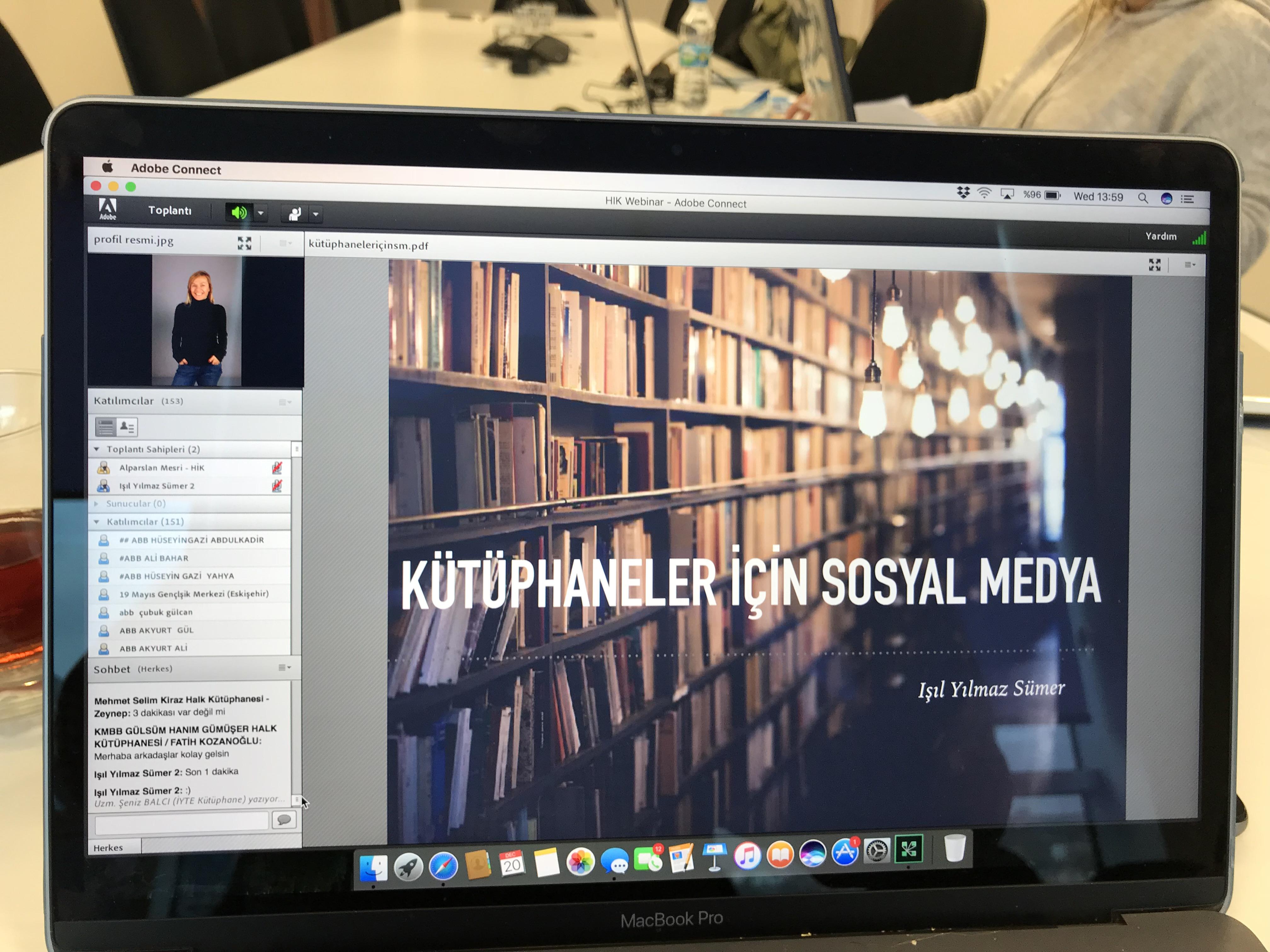 Kütüphaneler için Sosyal Medya