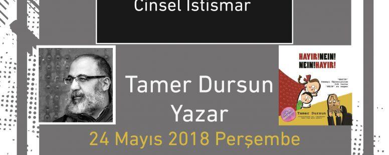 Hayır Demeyi Öğreniyorum – Sessizliğin Gölgesinde Cinsel İstismar Söyleşisi, 24 Mayıs 2018 Perşembe günü Ankara Goethe-Institut Konferans Salonu'nda gerçekleştirildi